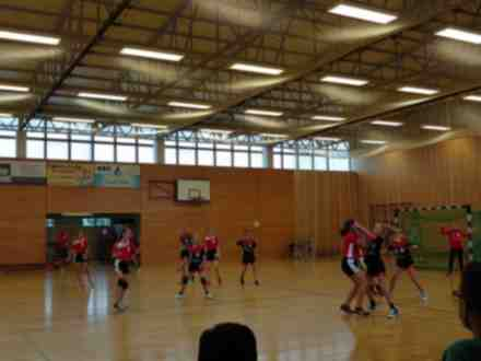 Handballtraining beginnt Outdoor