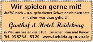 Plakat Heidekrug