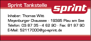 Plakat Sprint